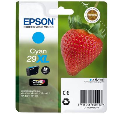 Epson 29 Cartridge Cyaan XL (C13T29924010)