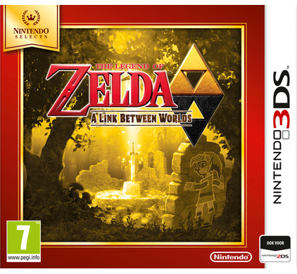 The Legend of Zelda : A Link Between Worlds Select 3DS