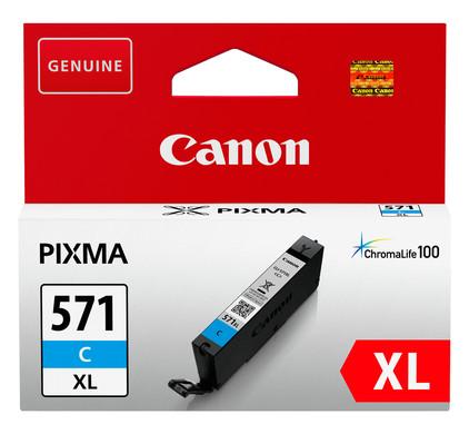 Canon CLI-571XL Cartridge Cyaan (0332C001)