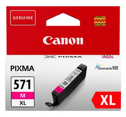 Canon CLI-571XL Cartouche Magenta (0333C001)
