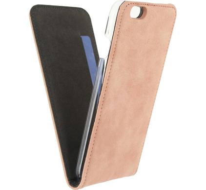 Mobilize Premium Magnet Flip Case Apple iPhone 6s Roze