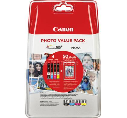 Canon CLI-551 Value Pack (6508B005)