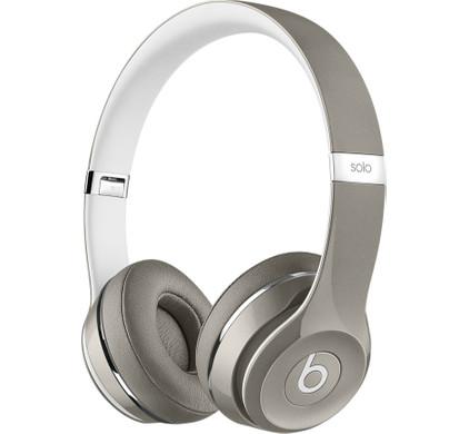 Beats Solo2 On-Ear Headphones Luxe Edition Zilver