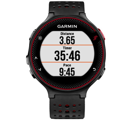 Garmin Forerunner 235 HRM Black/Marsala red Main Image