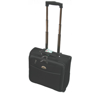 Adventure Bags Business Laptop Trolley Zwart
