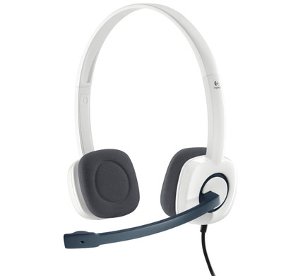 Logitech Stereo Headset H150 Wit