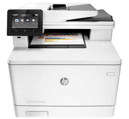 HP Color LaserJet Pro MFP M477fnw Main Image