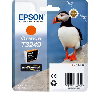 Epson T3249 Cartridge Oranje (C13T32494010)