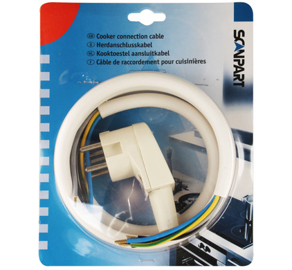 Scanpart Câble de Raccordement + Fiche Perilex 5 x 2,5 mm
