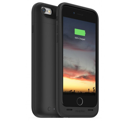 Mophie Juice Pack Reserve Apple iPhone 6/6s Zwart