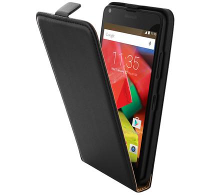 Mobiparts Essential Flip Case Microsoft Lumia 640 Zwart