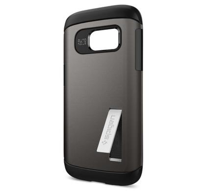 Spigen Slim Armor Samsung Galaxy S7 Grijs