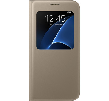 Samsung Galaxy S7 S View Cover Goud