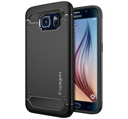 Spigen Rugged Armor Samsung Galaxy S6 Zwart