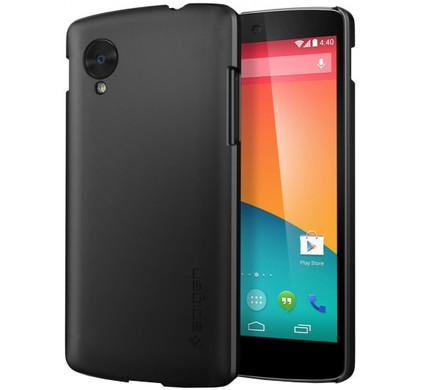 Spigen Ultra Fit Premium Hard Case LG Nexus 5 Zwart