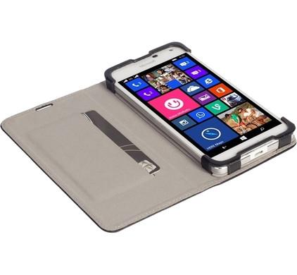Krusell Malmo Book Case Microsoft Lumia 650 Zwart