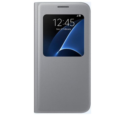 Samsung Galaxy S7 S View Cover Zilver