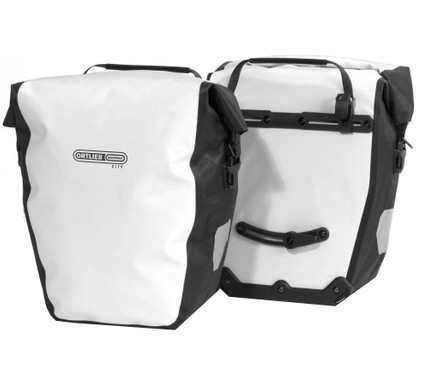 Ortlieb Back-Roller City QL1 White/Black (paar)