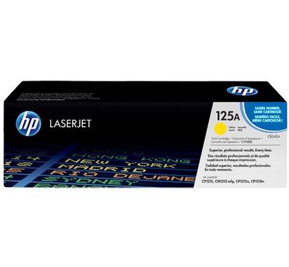 HP 125A Color LaserJet Toner Yellow (geel) (CB542A)