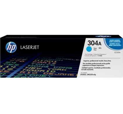 HP 304A Cyaan Toner (CC531A)