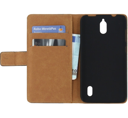 Mobilize Classic Wallet Book Case Huawei Ascend Y625 Zwart