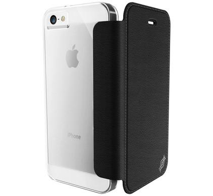 X-Doria Book Case Apple iPhone 5/5S/SE Zwart