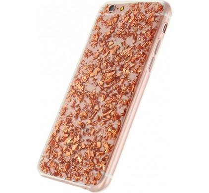 Xccess Glitter TPU Case Apple iPhone 6/6s Brons