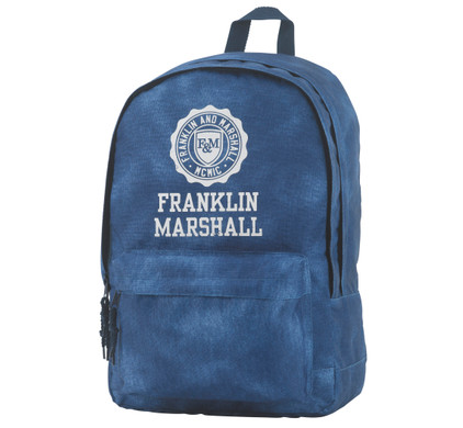 Franklin & Marshall Boys Double Backpack Vintage Blue