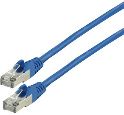 Valueline Netwerkkabel FTP CAT6 7,5 meter Blauw