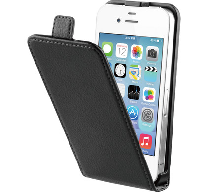 BeHello Flip Case Apple iPhone 4/4S Zwart