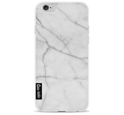 Casetastic Softcover Apple iPhone 6/6s White Marble