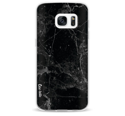 Casetastic Softcover Samsung Galaxy S7 Black Marble