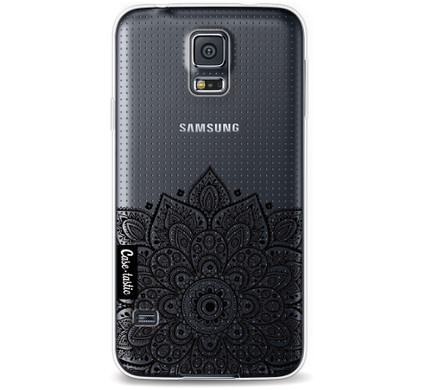 Casetastic Softcover Samsung Galaxy S5 Floral Mandala
