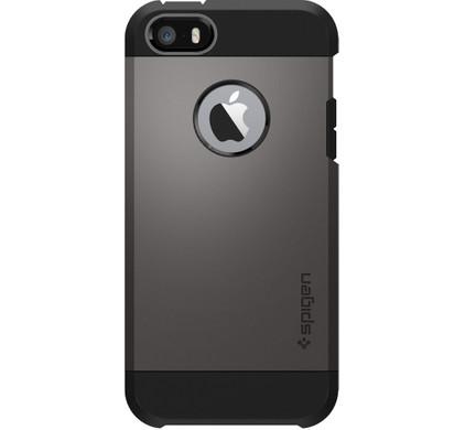 Spigen Tough Armor Apple iPhone 5/5S/SE Donkergrijs