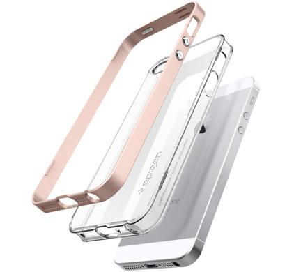 Spigen Neo Hybrid Crystal Apple iPhone 5/5S/5SE Rose Gold