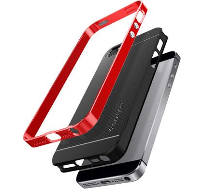 Spigen Neo Hybrid Apple iPhone 5/5S/5SE Rood