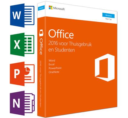 Microsoft Office 2016 Thuisgebruik en Studenten UK
