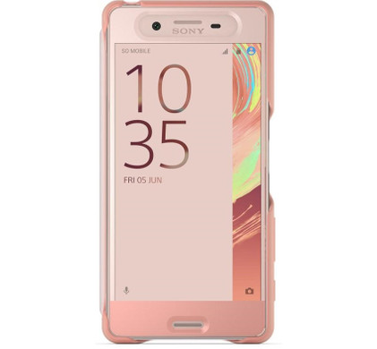 Sony Xperia X Style Cover Touch Rose Gold