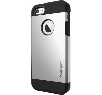 Spigen Tough Armor Apple iPhone 5/5s/SE Zilver