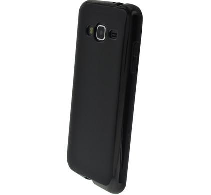 Mobiparts Essential TPU Case Samsung Galaxy J3 (2016) Zwart