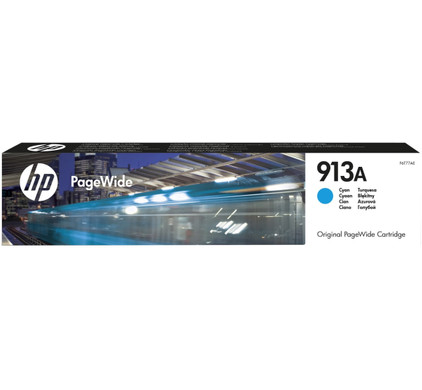 HP 913A PageWide Cartridge Cyaan (F6T77AE)