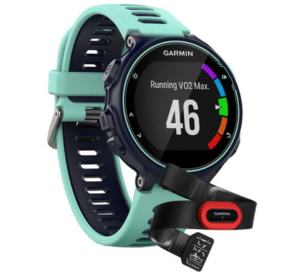 Garmin Forerunner 735XT Run Bundle Frost Blue Main Image