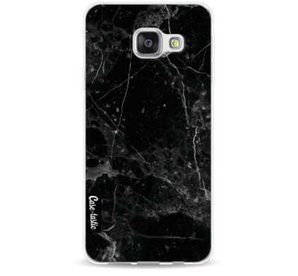 Casetastic Softcover Samsung Galaxy A3 (2016) Black Marble