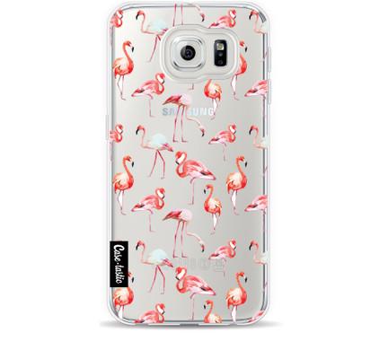 Casetastic Softcover Samsung Galaxy S6 Flamingo Party