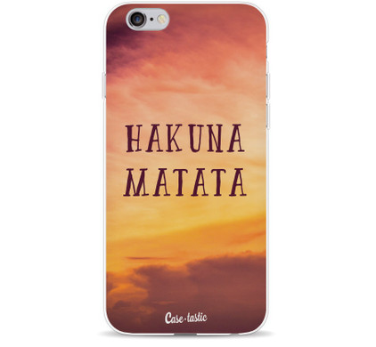 Casetastic Softcover Apple iPhone 5/5S/SE Hakuna Matata