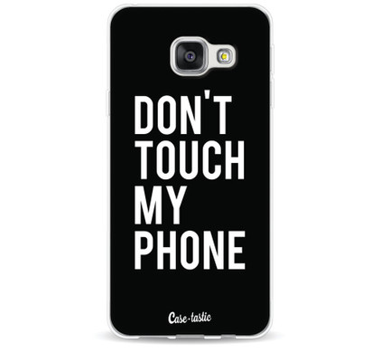 Casetastic Softcover Samsung Galaxy A3 (2016) Don't Touch My Phone