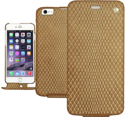 Noreve Tradition Snake Leather Case Apple iPhone 5/5S/SE Beige