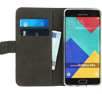 Mobilize Gelly Wallet Book Case Samsung Galaxy A5 (2016) Zwart