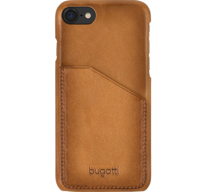 Bugatti Snap Case Londra Pocket Apple iPhone 7/8 Bruin
