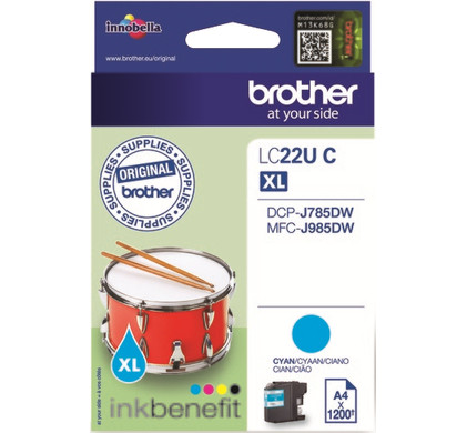 Brother LC-22UC Cyaan